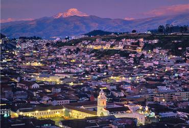 Ecuador's capital is both the political and the economic heart of the country. This vibrant modern town is a much visited business destination. Quito has more than enough capacity for conferences, meetings and events and of course there are many interesting sights to visit.