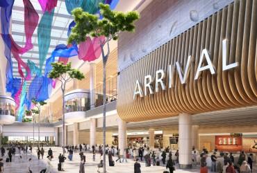 Singapore's Changi Airport opens new terminal