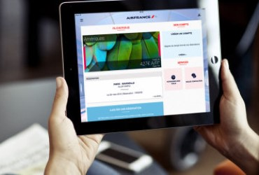 The Air France app receives a makeover