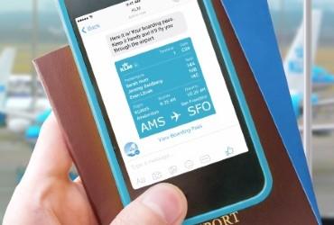 KLM and Facebook Messenger take next strategic step in social media service'