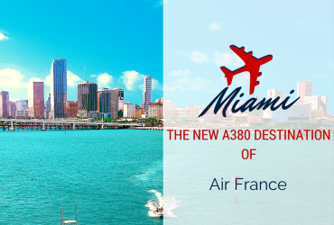 During the 2014-2015 winter season (26 October 2014 – 28 March 2015), Air France will operate up to seven flights a week to Miami from Paris-Charles de Gaulle. From 1 December to the end of the season, all flights will be operated by Airbus A380.In the United States, Miami therefore becomes the third destination served by the largest aircraft in the Air France fleet, after New York and Los Angeles. Daily flight schedule* (in local time)  AF090: leaves Paris-Charles de Gaulle at 13:50, arrives in Miami at 18:05 AF099: leaves Miami at 20:55, arrives at Paris-Charles de Gaulle at 11:20 the following day  *daily flight except Wednesdays, from 5 January 2015 to 1 February 2015 and from 9 March 2015 to 28 March 2015. The A380, optimum travel comfort  The Air France A380 has 516 seats in four cabins: La Première (9 seats); Business (80 seats); Premium Economy (38 seats) and Economy (389 seats). On board, all passengers enjoy optimal travel comfort and a wider range of amenities. 220 windows provide the cabin with natural light and changing lighting moods help passengers to cross time zones without fatigue. In addition, six bars located throughout the aircraft enable passengers to meet up during the flight.  With a cabin five decibels quieter compared to industry standards, the A380 is particularly quiet aircraft. It also features the latest technology in terms of entertainment and comfort. External images are broadcast live throughout the flight via three cameras housed at the front, underneath and at the rear of the plane.  Book your trip with Air France to Miami!